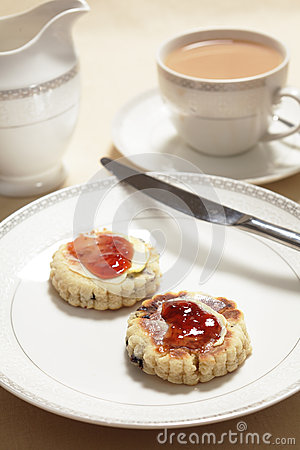Welsh cakes at tea