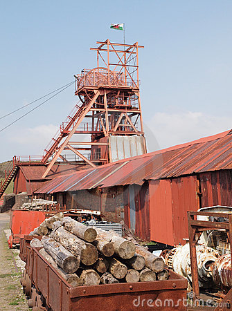 Welsh Coal Mining Pit Machinery