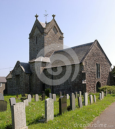 Welsh / English country church