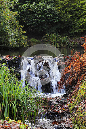 Free Welsh Waterfall Royalty Free Stock Photos - 36592388
