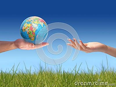 Welt zu Ihnen