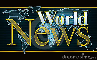 Weltnachrichten-Grafik