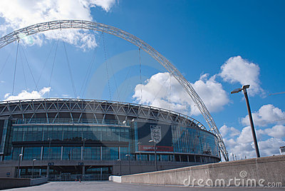 Wembley stadium Editorial Image