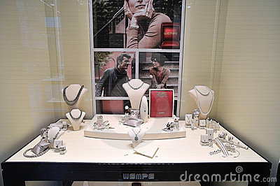 Jewelry store Editorial Stock Image