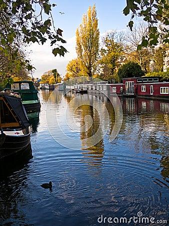 Wenig Venedig, London, England