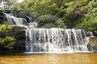 Wentworth Falls Waterfall, Blue Mountains