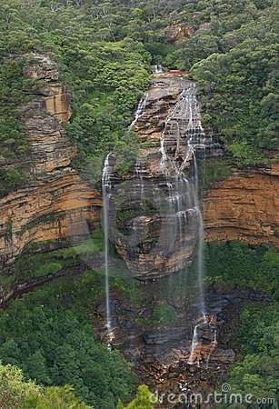 Wentworth waterfall