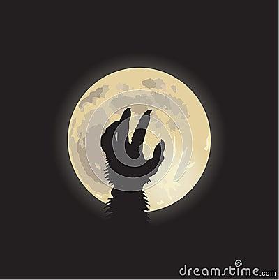 Werewolf moonlight