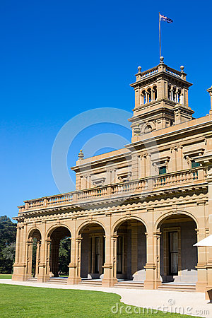 Free Werribee Mansion Gardens Royalty Free Stock Images - 46759989