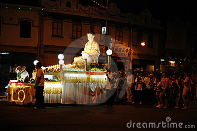 Wesak Day Editorial Stock Image