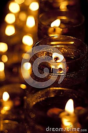 Wesak Day Celebration candle