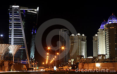 West Bay hotels area Doha