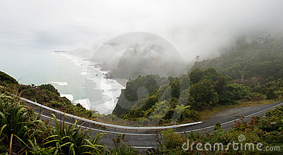 West Coast Road Royalty Free Stock Image - Image: 21190826