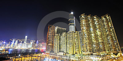 West Kowloon at Night