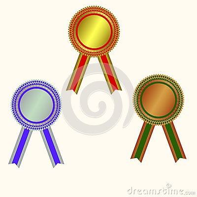 West medals: champion medals