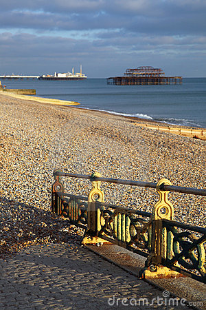 West pier brighton england