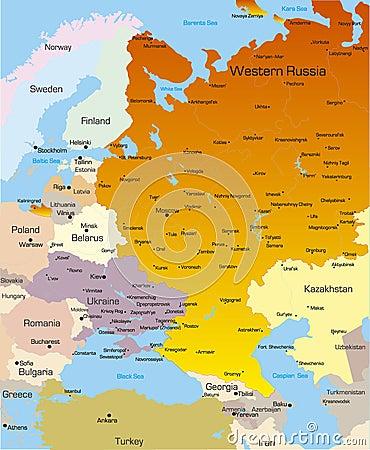 West Russia region