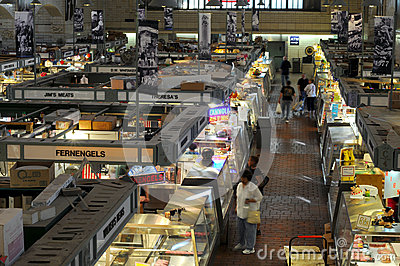 West Side Market vendors Editorial Photography