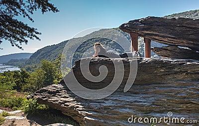 West Virginia Jefferson Rock Harpers Ferry Park