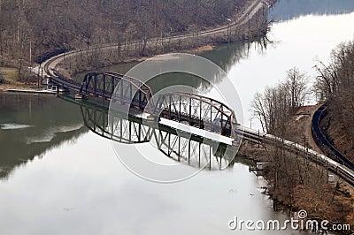 West virginia railroad bridge
