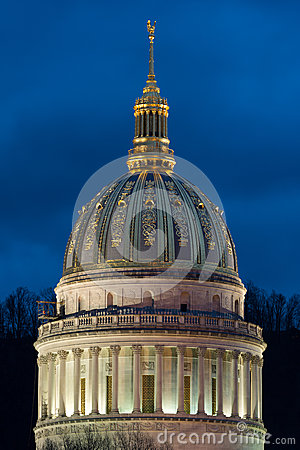 Free West Virginia State Capitol Dome Royalty Free Stock Image - 48953016