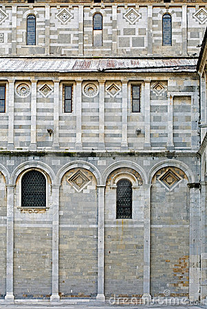 Free West Wall, Pisa Cathedral, Italy Stock Photography - 12754202