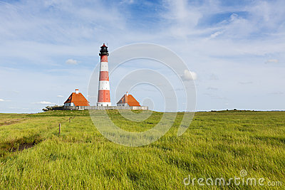 Westerhever lighthouse
