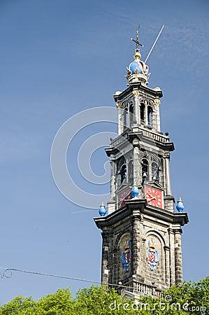 Westerkerk amsterdam westerchurch holland