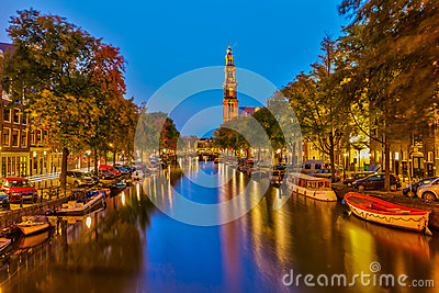 Western Church In Amsterdam Stock Photo - Image: 27920140
