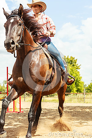 Western Horse Riding Clipart Western Cowgirl Woman ...