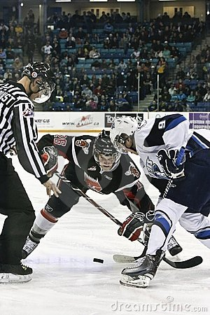 Western Hockey League (WHL) Game Editorial Image