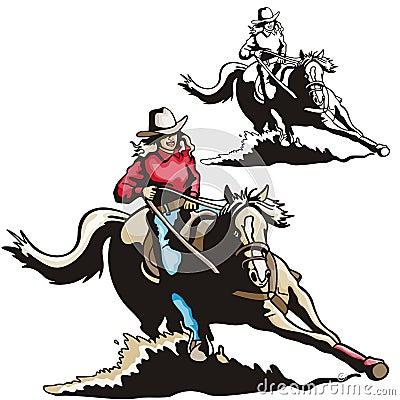 Western illustration series
