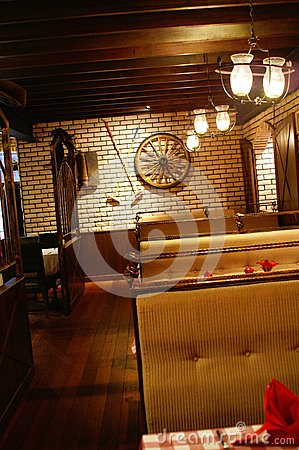 picture of western style interior design for restaurant hotel or - Western Interior Design Ideas