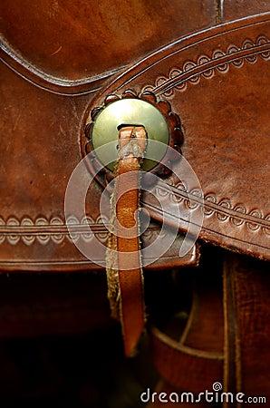 Free Western Saddle Detail Stock Photography - 32378042