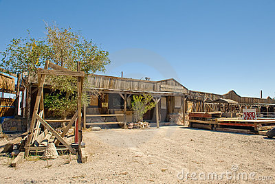 Western saloon Nevada