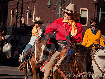 Western Stock Show Parade Editorial Stock Image