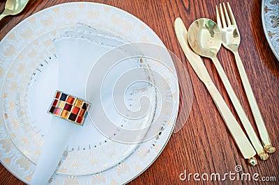 Western tableware
