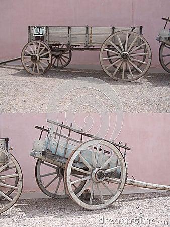Free Western Wagon Stock Image - 1720531