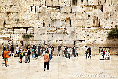 Western Wall Editorial Photo