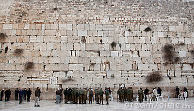 The Western Wall. Editorial Stock Image