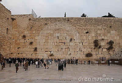Western Wall Editorial Photography