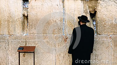 Western Wall Editorial Stock Photo