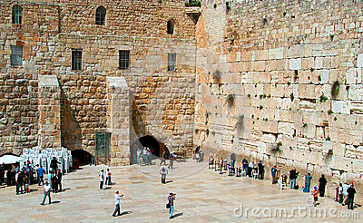 The Western Wall Editorial Stock Image