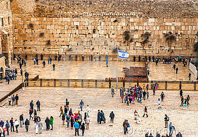 The Western Wall, Jerusalem Editorial Stock Image