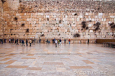 The Western Wall, Jerusalem Editorial Photo
