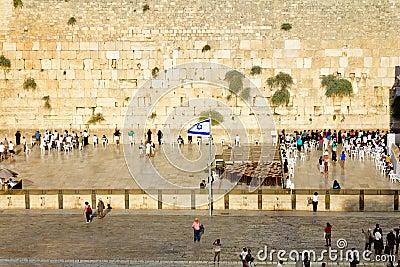 Western Wall in Jerusalem Editorial Photo