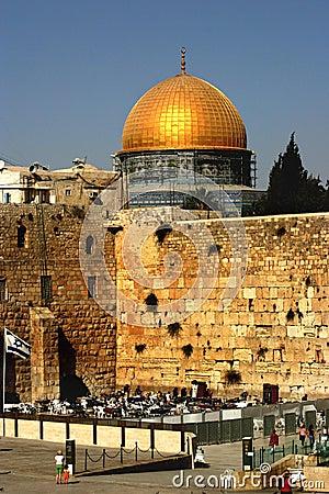 Western Wall Jerusalem from Israel
