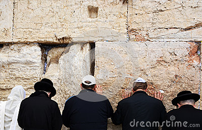 The Western Wall in Jerusalem Editorial Photo