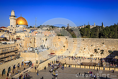Western Wall Editorial Image