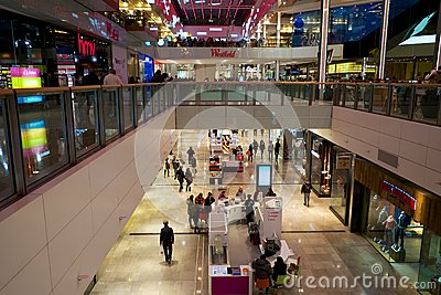 Westfield shopping mall Editorial Photography